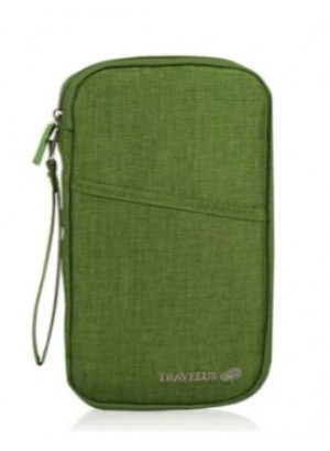 Reis - organizer - travel wallet - Groen
