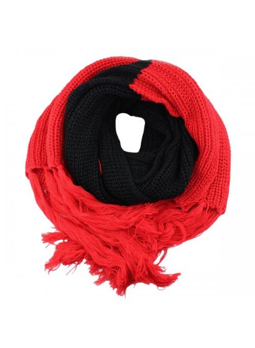 a0a6271b498 Sjaals / Mutsen : Herfst / Winter Sjaal - Zwart / Rood