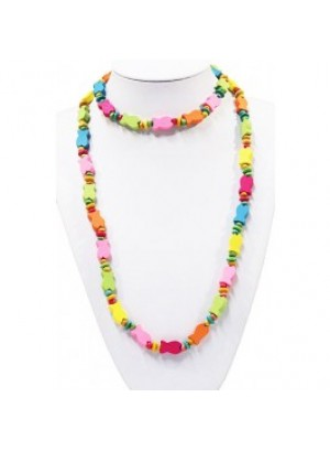 Kinderketting hout - Vis