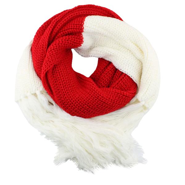 368c0e14c67 Herfst / Winter Sjaal - Rood / Wit. Verlanglijst